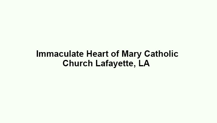 Immaculate Heart of Mary Slide Image